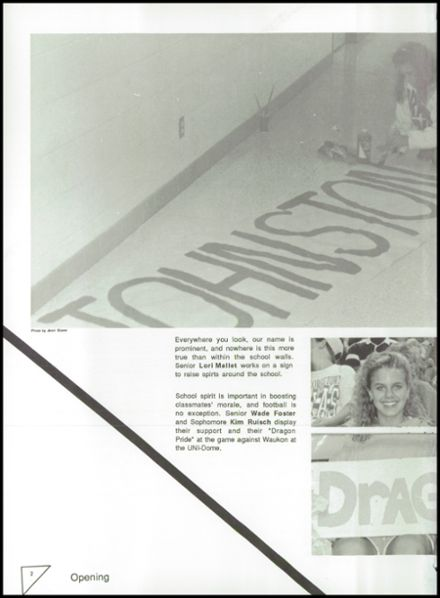 1992 Johnston High School Yearbook Page 6