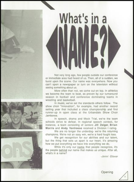 1992 Johnston High School Yearbook Page 7