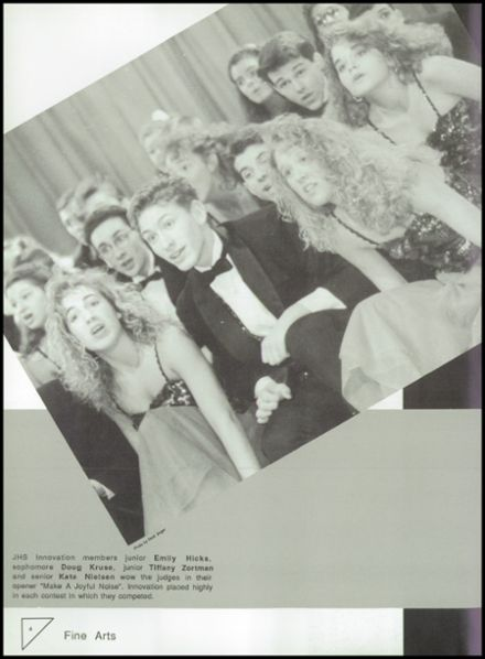 1992 Johnston High School Yearbook Page 8