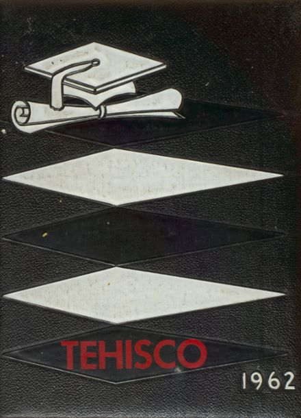 1962 Tenino High School Yearbook Cover
