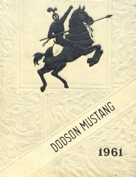 1961 Dodson High School Yearbook Cover