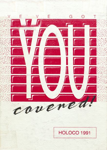 1991 Estherville High School Yearbook Cover
