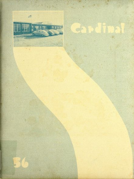1956 Froid High School Yearbook Cover
