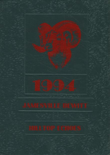 1994 Jamesville-DeWitt High School Yearbook Cover