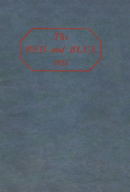 1923 Jeannette High School Yearbook Cover