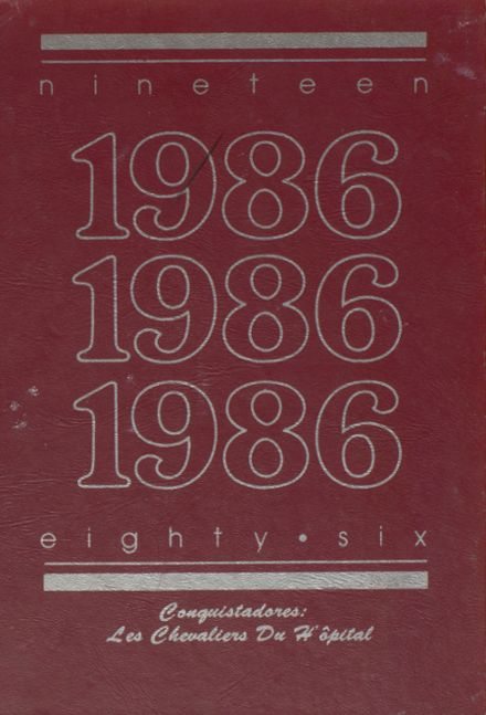 1986 King-Drew Medical Magnet High School Yearbook Page 1