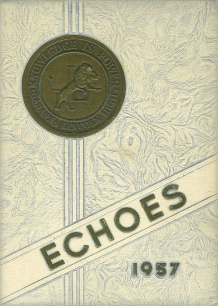 1957 Gahanna Lincoln High School Yearbook Cover