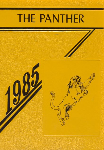 1985 Lewis County High School Yearbook Cover
