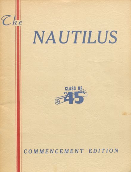 1945 College High School Yearbook Cover