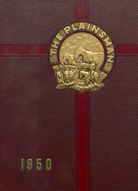 1950 Plainfield High School Yearbook Cover