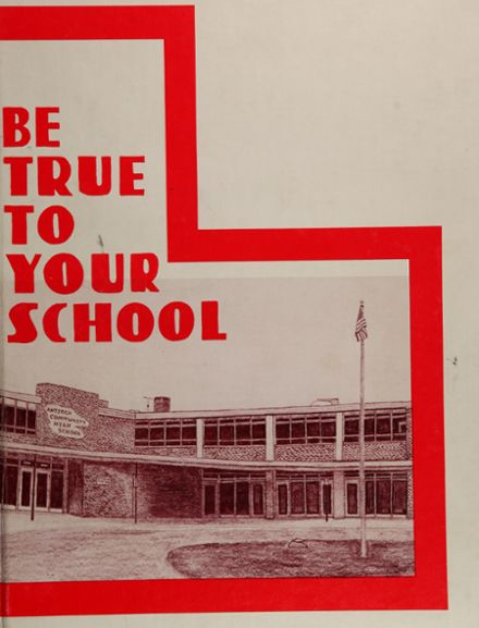 1977 Antioch Community High School Yearbook Cover