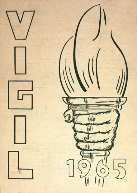 1965 Central Catholic High School Yearbook Cover