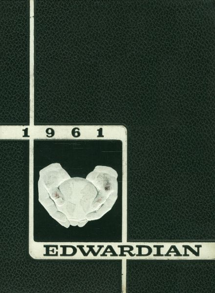 1961 St. Edward High School Yearbook Cover