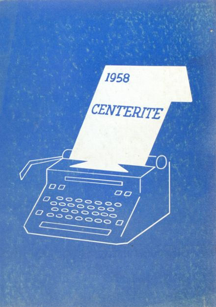 1958 Dodge Center High School Yearbook Cover
