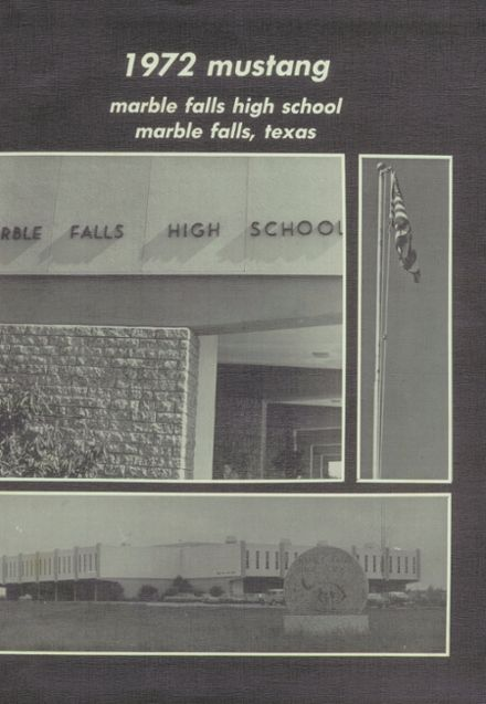 1972 Marble Falls High School Yearbook Page 5