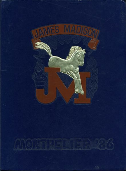 1986 Madison High School Yearbook Cover