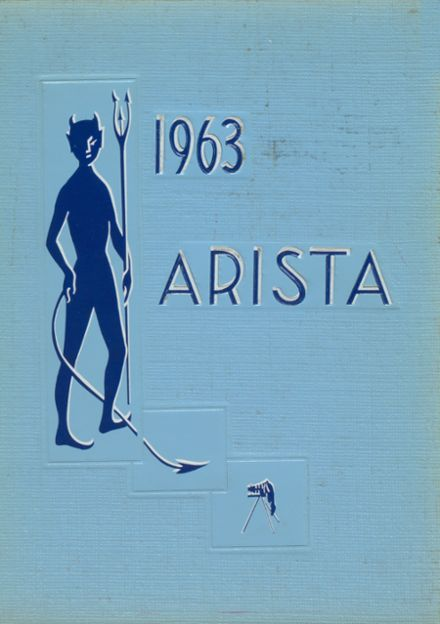 1963 Brockport High School Yearbook Cover