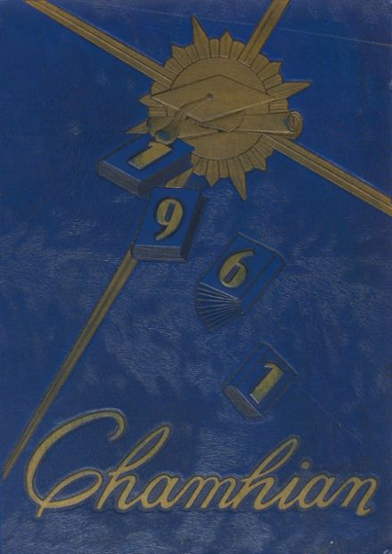 1961 Chamblee High School Yearbook Cover