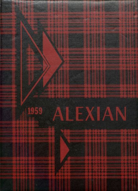 1959 Jefferson High School Yearbook Cover