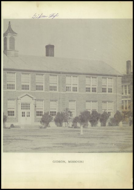 1950 Gideon High School Yearbook Page 7