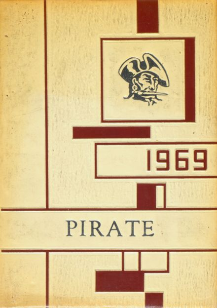 1969 Wylie High School Yearbook Cover