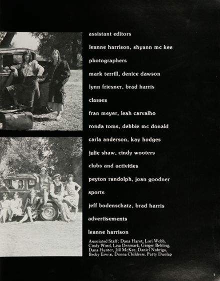 1975 Anderson Union High School Yearbook Page 9