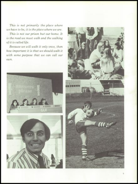 1973 Scotia-Glenville High School Yearbook Page 9