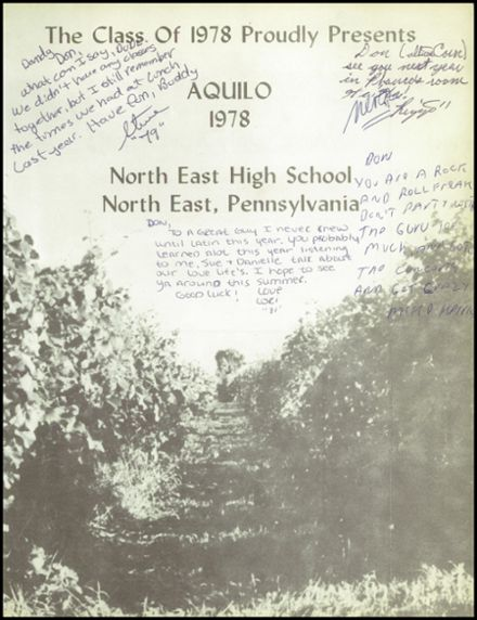 1978 North East High School Yearbook Page 5