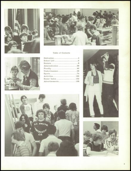 1978 North East High School Yearbook Page 7