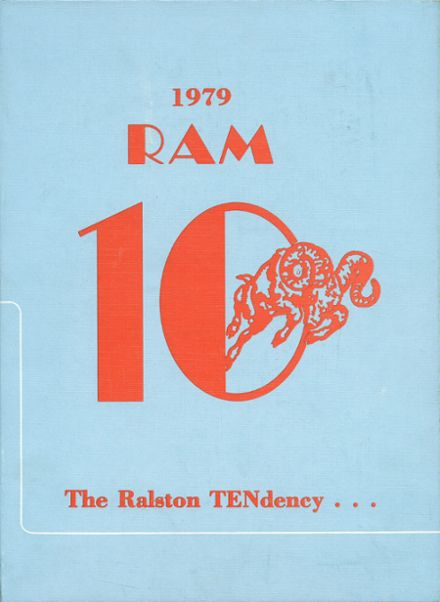 1979 Ralston High School Yearbook Cover