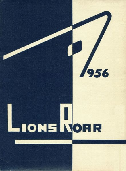 1956 Lyons High School Yearbook Cover