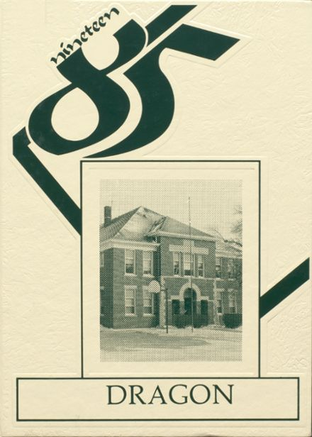 1985 Bellflower High School Yearbook Cover