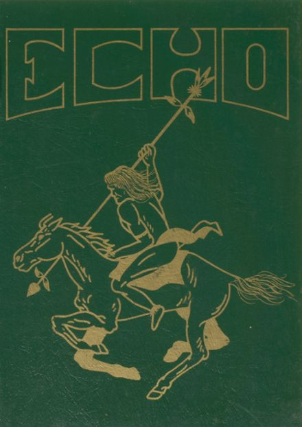 1981 Enfield High School Yearbook Cover