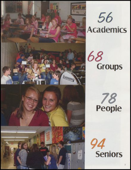 2009 Canby High School Yearbook Page 7