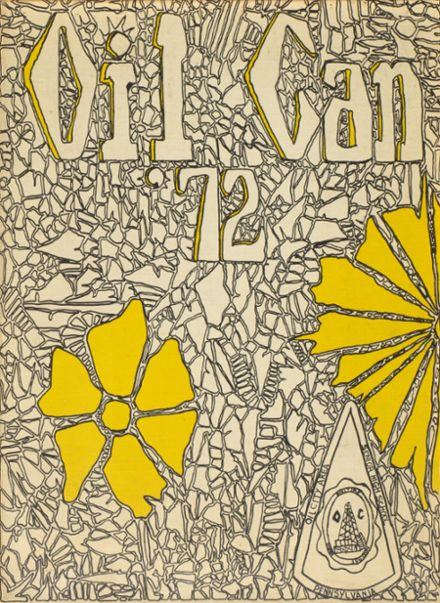 1972 Oil City High School Yearbook Cover