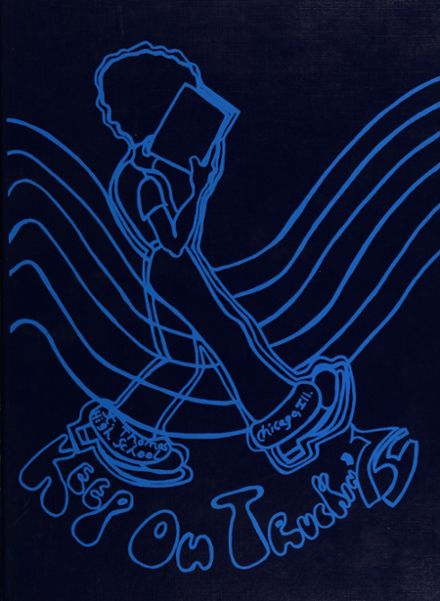 1974 St. Thomas the Apostle High School Yearbook Cover