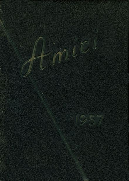1957 Guilford High School Yearbook Cover