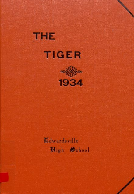 1934 Edwardsville High School Yearbook Cover