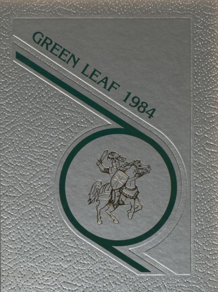 1984 Mt. Pleasant High School Yearbook Cover