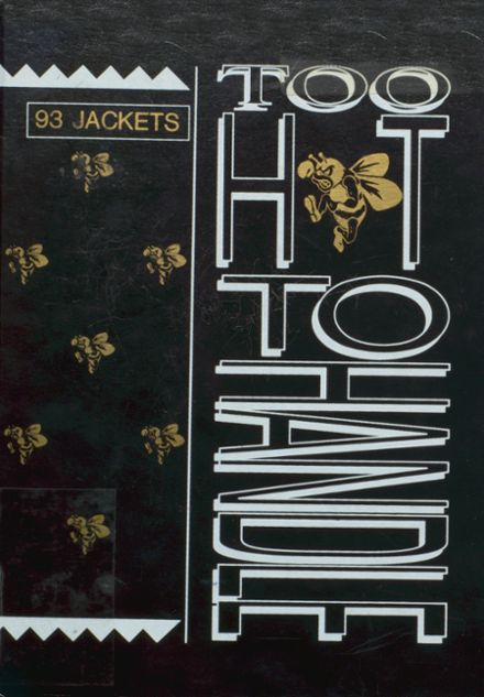 1993 Bassfield High School Yearbook Cover