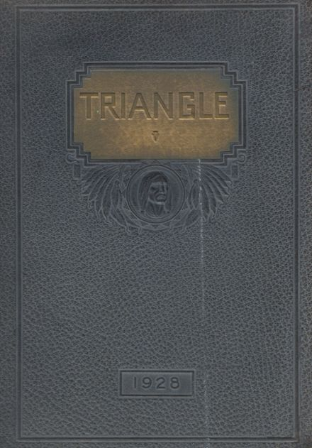 1928 Martinsburg High School Yearbook Cover