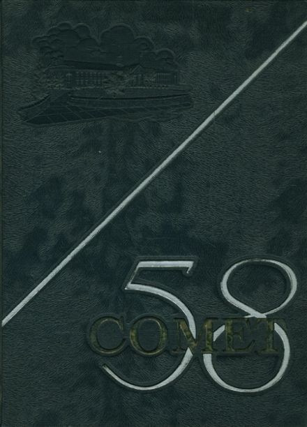 1958 Granby High School Yearbook Cover