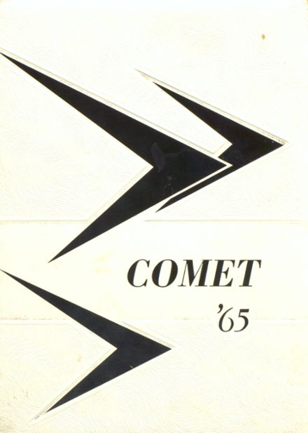 1965 Rolette High School Yearbook Cover