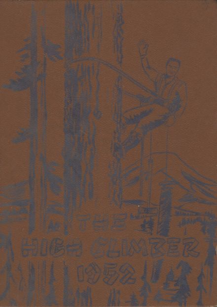 1952 Onalaska High School Yearbook Cover