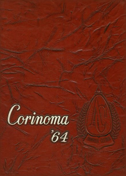 1964 Annville-Cleona High School Yearbook Cover