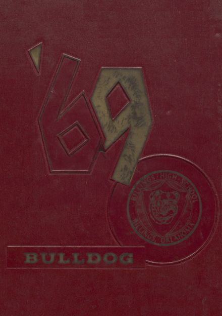 1969 Billings High School Yearbook Cover