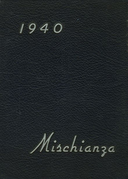 1940 Hotchkiss School Yearbook Cover