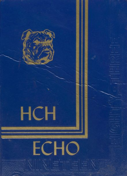 1983 Hancock Central High School Yearbook Cover