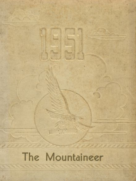 1951 Leslie County High School Yearbook Cover