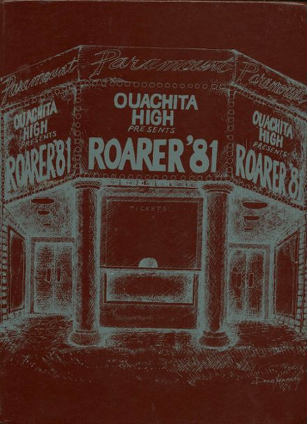 1981 Ouachita High School Yearbook Cover
